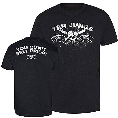 """7er Jungs """"Skull"""" T-Shirt (XL)"""