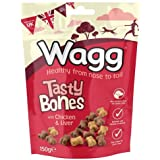 Wagg Tasty Bones with Chicken and Liver, 150g