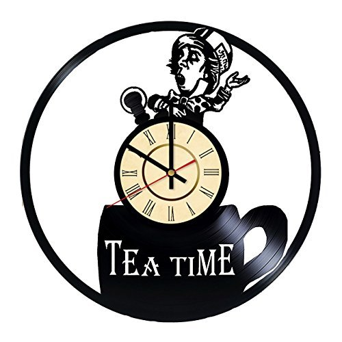 Fun Door Alice's Adventures in Wonderland Tea Time The Dormouse A Mad Tea Party Handmade Vinyl -