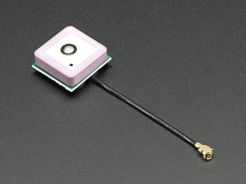 Adafruit Passive GPS Antenna uFL - 15mm x 15mm 1 dBi gain - Passive Gps Antenna