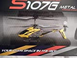 Gyroscopes S107g Metal Series 3 Channel Infrared Rc Mini Yellow Helicopter