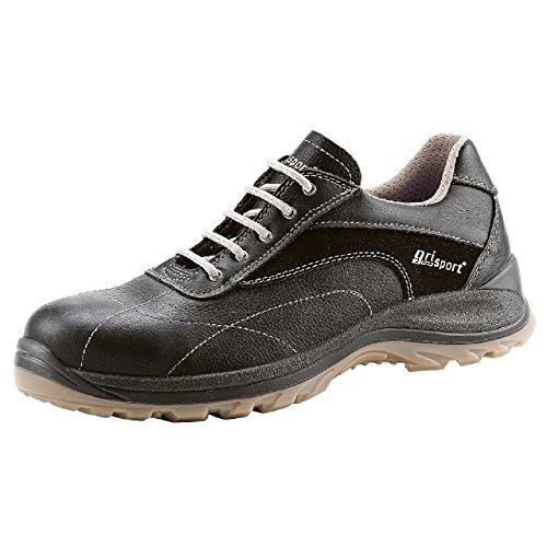 Grisport GRS852–47Glide scarpe di sicurezza, misura: 47, colore: Nero (Confezione da 2)