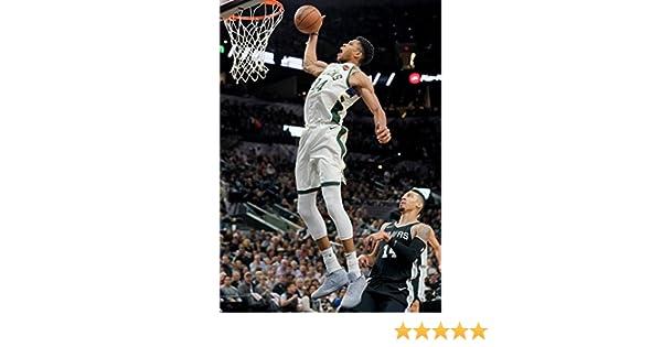 """Giannis Antetokounmpo Basketball Star 42/""""x24/"""" Poster 16"""