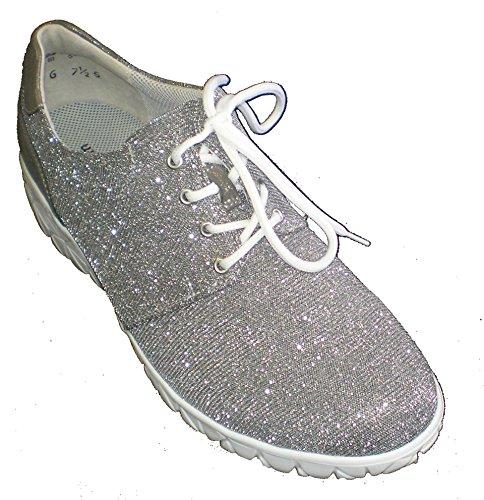 Textile Waldläufer Sneaker women's Grey women's Waldläufer Utqxw8p81