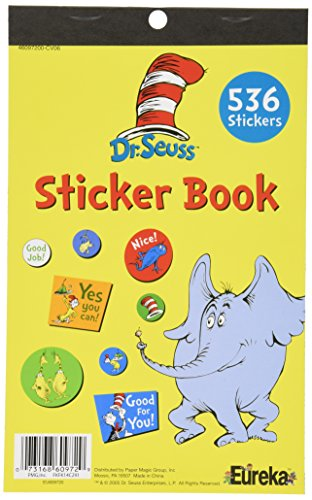 Eureka 609720 Dr Seuss Sticker Book