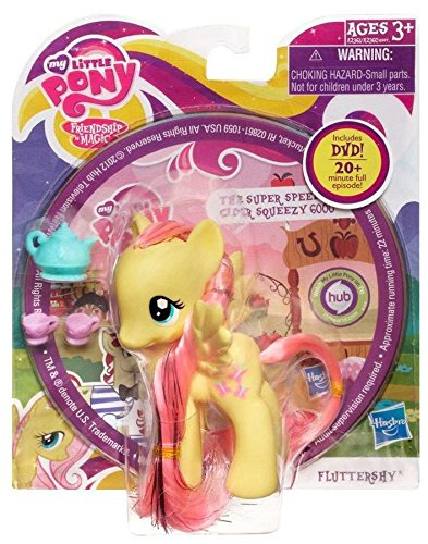 My Little Pony Fluttershy Crystal Pony with -