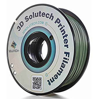 3D Solutech Real Yellow 1.75mm ABS 3D Printer Filament 2.2 LBS 1.0KG