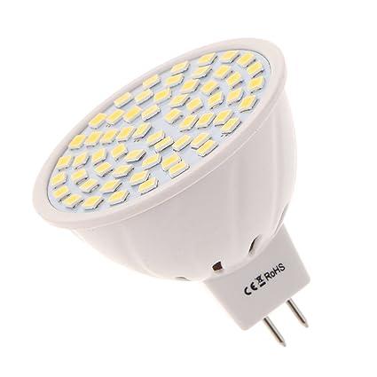 Cálido 220V S11 3000K Lámpara 3 LED 6W Blanco GU5 MR16 TFJcK1l