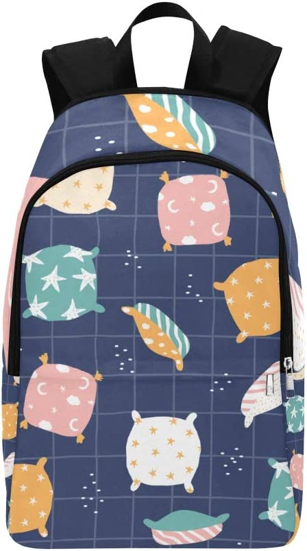 HZHENTIAN College Girls Bag Cute Fashion Cartoon Life Home Supplies Durable Water Resistant Classic Day Hike Bag Mens Casual Duffle Bag Hiking Bags for Women Daypack for Kids