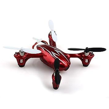Hubsan X4 H107C - Quadcopter (cámara 2 MP, 2.4 GHz, LCD), Color ...