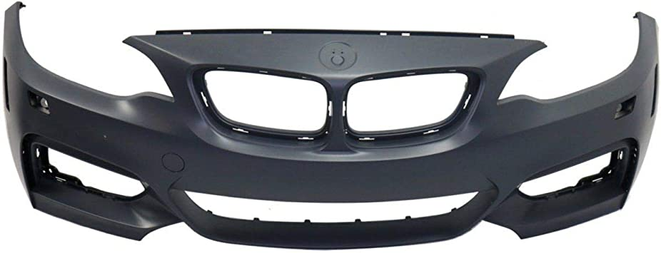 Front Bumper Cover For 2015-2016 BMW 228i Convertible//Coupe w// M Sport//HLW Holes