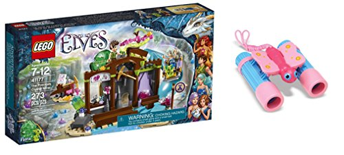 [LEGO Elves The Precious Crystal Mine 273 Pcs & free Gifts Sunny Patch Bixie Butterfly Binoculars (Colors may vary)] (Baby State Trooper Costume)
