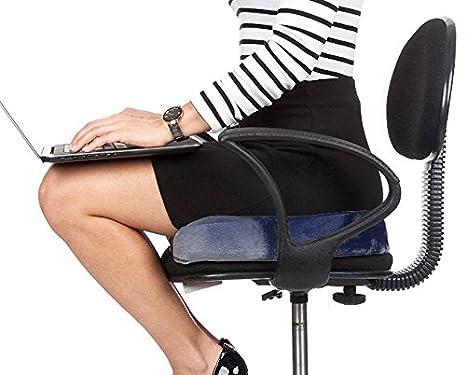 Pain Relief Memory Foam Seat Chair Cushion Tailbone Pillow Sciatica Coccyx OL10