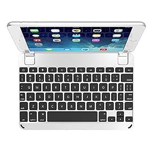 Brydge 7.9 Bluetooth Backlit Aluminum Keyboard for iPad mini 4 - Silver
