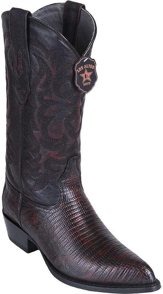 Dona Michi Mens Los Altos Teju Lizard J Toe Boots Handcrafted