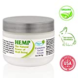 Moisturizer for Face Enriched with Natural Organic Hemp Seed Oil, Shea Butter, Vitamin C,E and more - Facial Cream for Women & Men. Daily Anti-Wrinkle Anti-Aging Skin Care for Sensitive, Dry and Oily