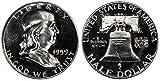 1959 GEM PROOF (PR63 PLUS) - FRANKLIN HALF DOLLAR 1/2 Proof US Mint