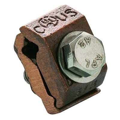 """Morris 91712 Morris Products 91712 Lay-In Ground Clamp, 3/8"""" Rebar Size"""