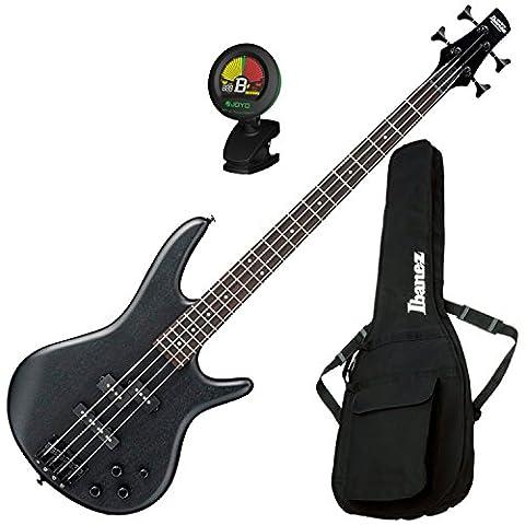 Ibanez GSR200B Weathered Black 4 String Bass Guitar w/ Gig Bag and Tuner (Bass Gig Bag Ibanez)