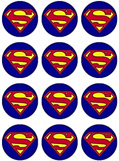 picture regarding Superhero Cupcake Toppers Printable identify : 12 EDIBLE Superhero Cupcake Toppers, superheroes
