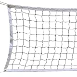 Yaheetech Volleyball Net with Steel Cable Rope
