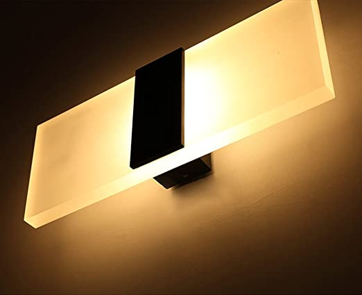 Amazon.com: geekercity Lámparas de acrílico 6 W LED de pared ...