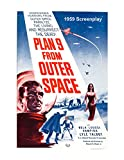 Plan 9 from Outer Space. 1959 Screenplay by Edward D. Wood Jr. (Script with Scene Description but no Camera Directions) Student Loose Leaf Edition.