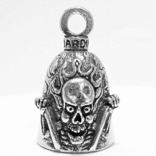 Guardian Ride It Like You Stole It Motorcycle Biker Luck Gremlin Riding Bell or Key Ring