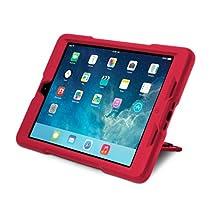 Kensington Black Belt 2nd Degree Rugged Case for iPad Air (K97079WW) Red