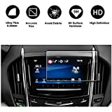 2013-2018 Cadillac ATS Cadillac SRX 8In CUE infotainment Interface Touchscreen Car Navigation Touch Screen Protector Tempered Glass 9H Anti-Scratch and Shock Resistant