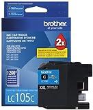 Brother LC105CS Super High Yield Ink Cartridge - Cyan