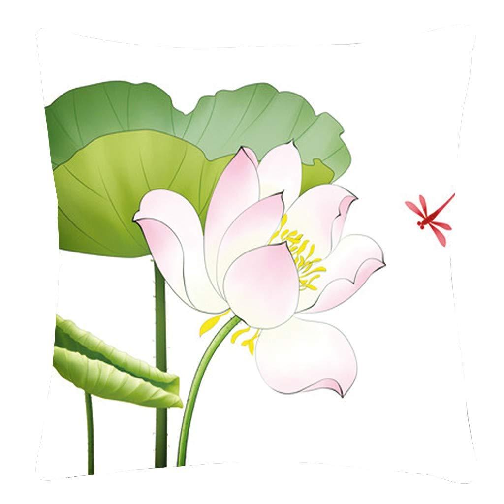 YWLINK 1PC Funda De Almohada Abrazo Flor DecoracióN del ...
