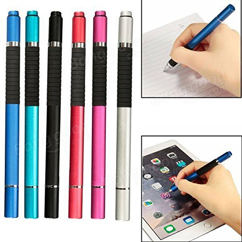 Global 2 in 1 Capacitive Touch Screen Stylus Ballpoint Pen For Tablet Cell Phone
