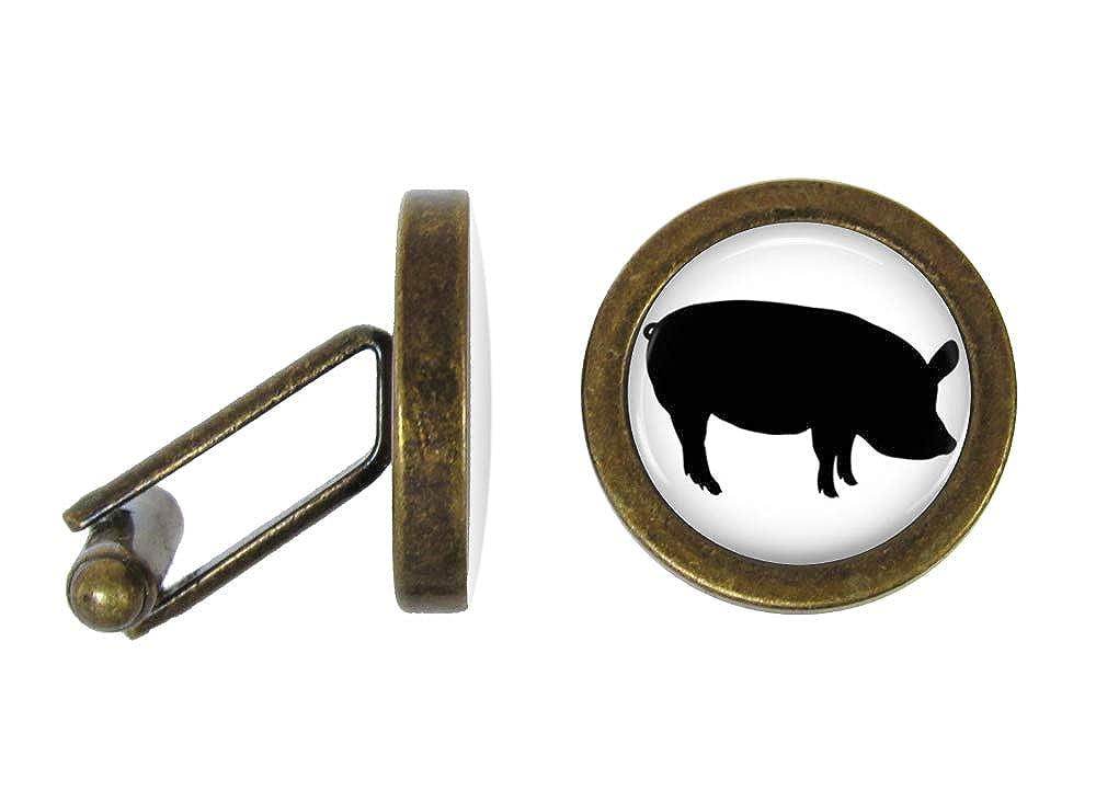 Angled Edition Oakmont Cufflinks Pig Cufflinks Pigs Cuff Links