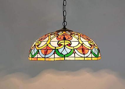 Lampadari E Plafoniere Tiffany : Dobany euro creativo tiffany stile lampadario art peach cuore