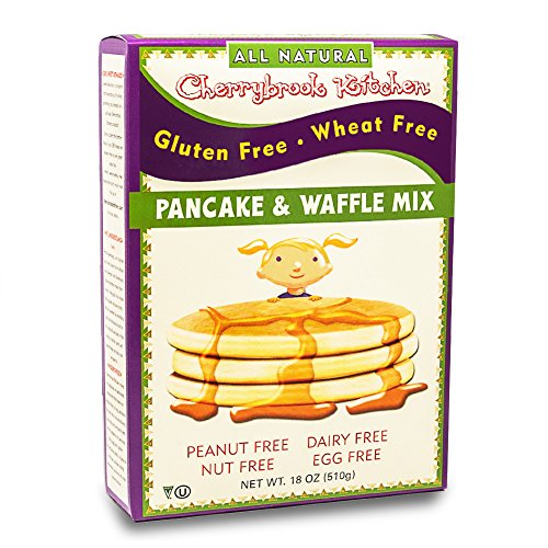 Free Gluten Kitchen Cherrybrook (Cherrybrook Kitchen Gluten Free Pancake & Waffle Mix, 18 oz (Pack of 6))