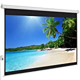 Best Choice Products Motorized Electric Auto HD Projection Screen, 100-Inch, 4:3 Display