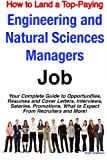 How to Land a Top-Paying Engineering and Natural Sciences Managers Job, Brad Andrews, 1921644389