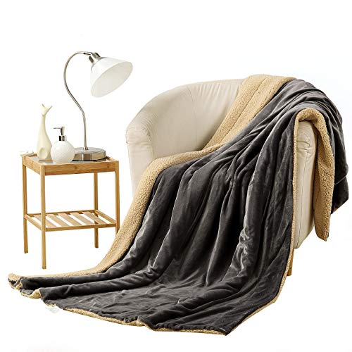 VODOF Fleece Throw Size Summer Blanket All Season 350GSM Lightweight Throw for The Bed Extra Soft Brush Fabric Winter Warm Sofa Blanket