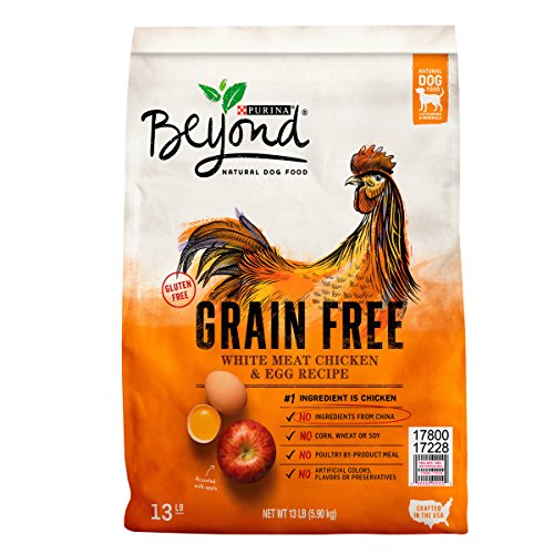 Purina Beyond Grain Free White Meat Chicken   Egg Recipe Adult Dry Dog Food   13 Lb  Bag