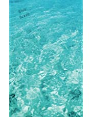 Blue Ocean: Bullet Grid Journal with Page Numbers (5x8 in), 150 Dotted Pages, Softcover