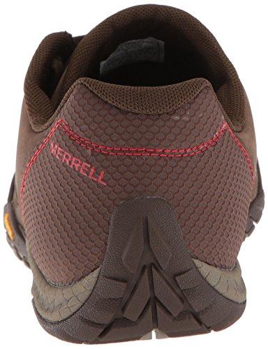 Merrell Mens Parkway Emboss Läder Sneaker Merrell Sten