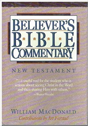 Believer S Bible Commentary New Testament William