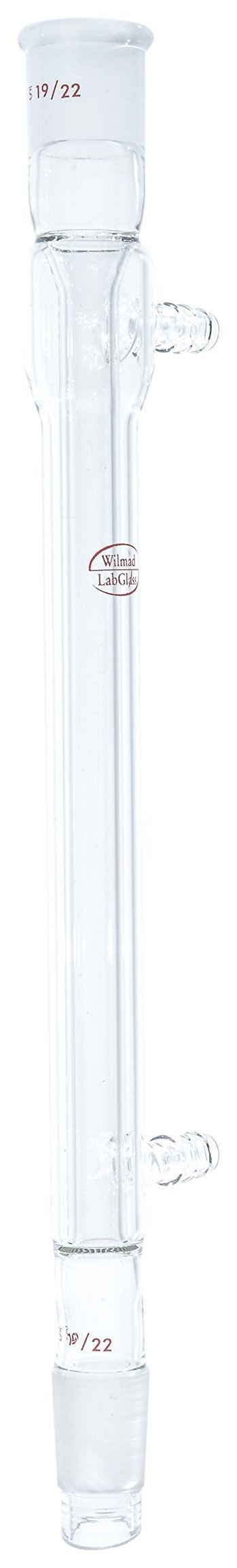 Wilmad LK-590-102 Borosilicate Glass West Condenser, 19/22 Joint, 190 mm Length by SP Scienceware