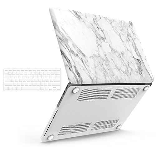 iBenzer Basic Soft-Touch Series Plastic Hard Case & Keyboard Cover for Apple MacBook Pro 13-inch 13
