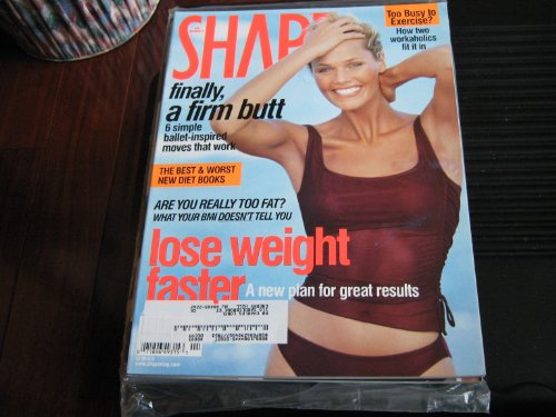 Shape Magazine (Camilla Vest , A Firm Butt , Lose Weight Faster , New Diet Books, January 1999) ()