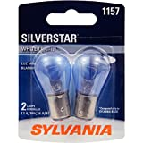 SYLVANIA 1157 SilverStar High Performance Miniature Bulb, (Contains 2 Bulbs)