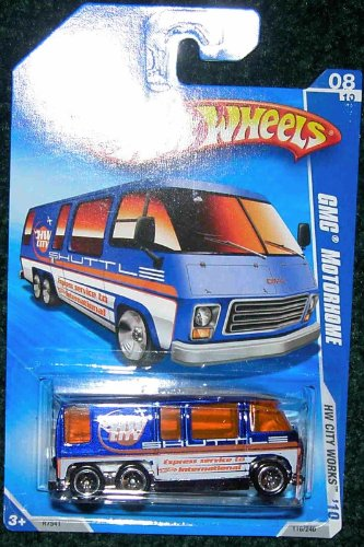 - HOT WHEELS 2010 HW CITY WORKS 08/10 GMC MOTORHOME
