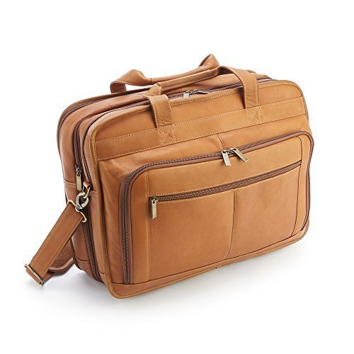 - Royce Leather Men's Colombian Leather Expandable 15