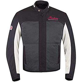Indian Motorcycle New OEM Men's Difter Mesh Jacket Black, X-Large 286799909